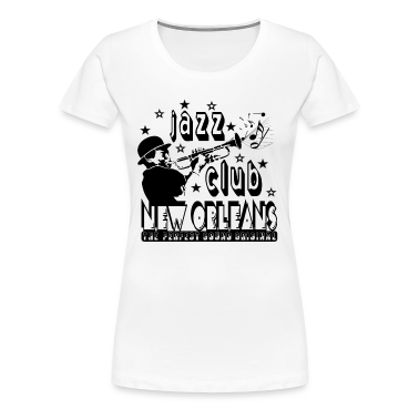 Jazz club new orleans the perfect sound original t shirts for Shirt printing new orleans