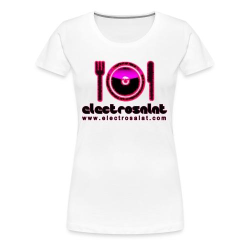 EleCtroSalat Shirt Girl 1 - Frauen Premium T-Shirt