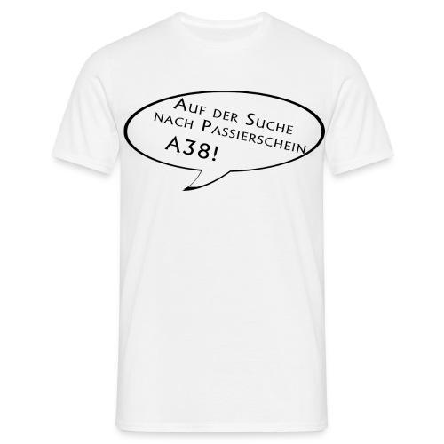 Männer Shirt klassisch hell - Männer T-Shirt