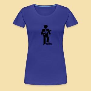 ShirtUkePlayer - Frauen Premium T-Shirt
