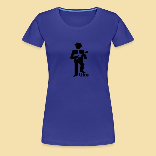 ShirtUkePlayer - Frauen Premium T-Shirt