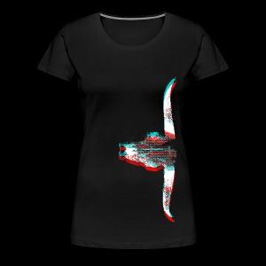 Sidewinded (Invert) - Women's Premium T-Shirt