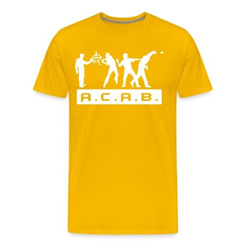 A.C.A.B SHIRT in vielen FARBEN - Männer Premium T-Shirt