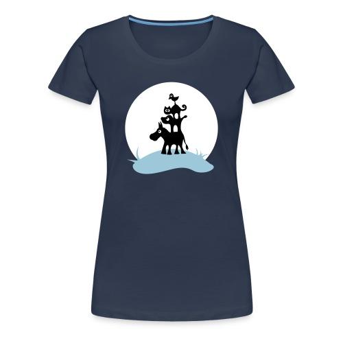 Die Bremer Stadtmusikanten - Frauen Premium T-Shirt