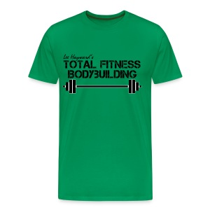 Total Fitness Bodybuilding Barbell Classic-Cut T-shirt - Men's Premium T-Shirt