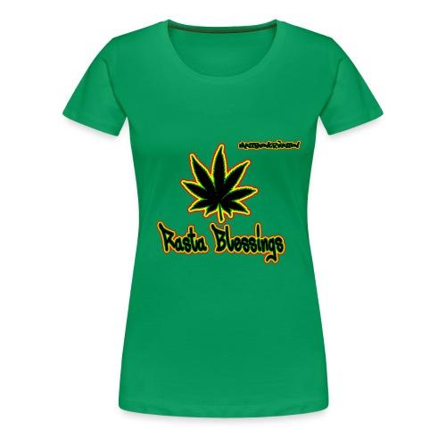 T shirt Rasta Blessings Femmes - T-shirt Premium Femme