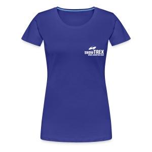 SnowTrex Shirt cyan - Koszulka damska Premium