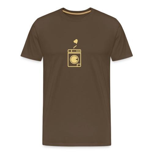 Ich wasche gern. - Männer Premium T-Shirt