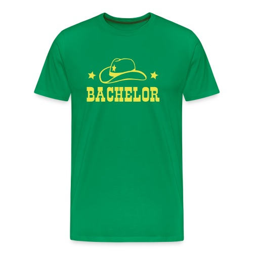 Bachelor T-Shirt Cowboy - Männer Premium T-Shirt
