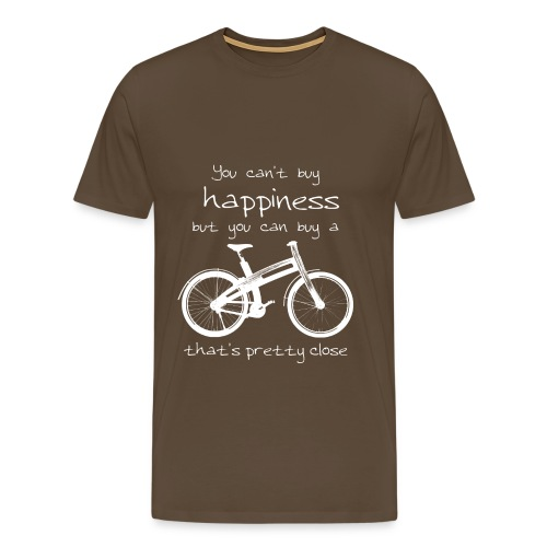 Bough Bikes happiness t-shirt heren - Mannen Premium T-shirt