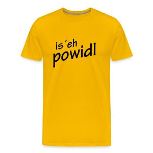 is eh powidl - Männer Premium T-Shirt