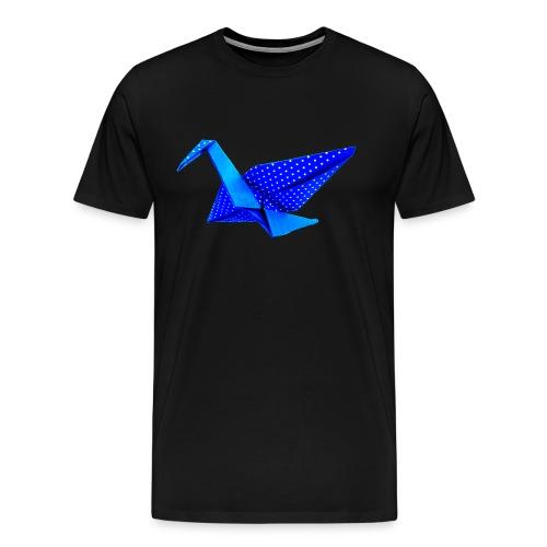 Kranich  - Männer Premium T-Shirt