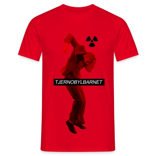 TJERNOBYLBARNET RÖD - T-shirt herr