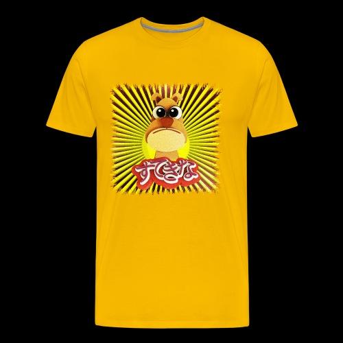 Comic - Nice Dog - Miesten premium t-paita