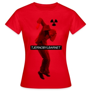 TJERNOBYLBARNET RÖD - T-shirt dam