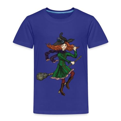 Kindershirt Hexe - Kinder Premium T-Shirt