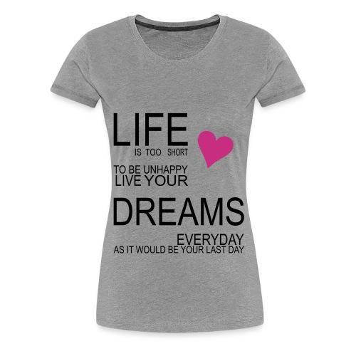 CUTE TSHIRT - Premium T-skjorte for kvinner