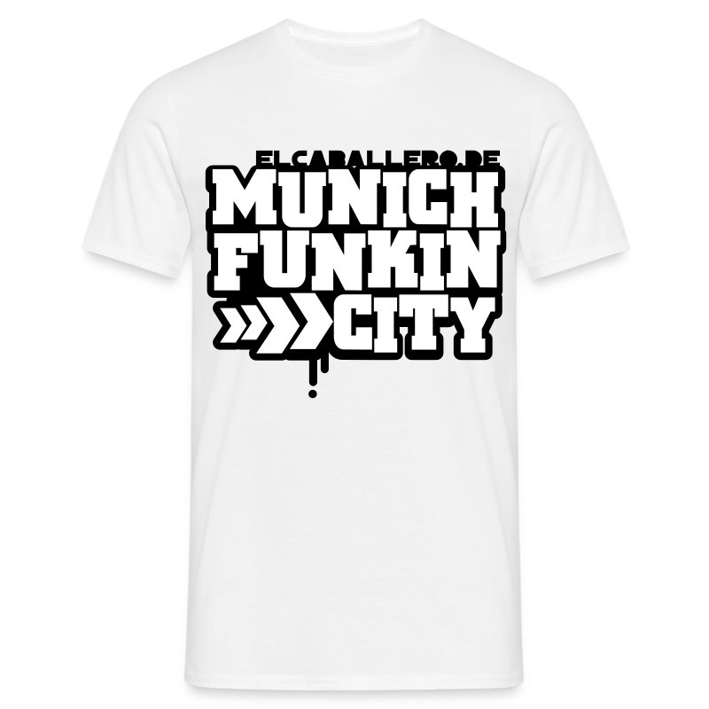 Munich Funkin City - Männer T-Shirt