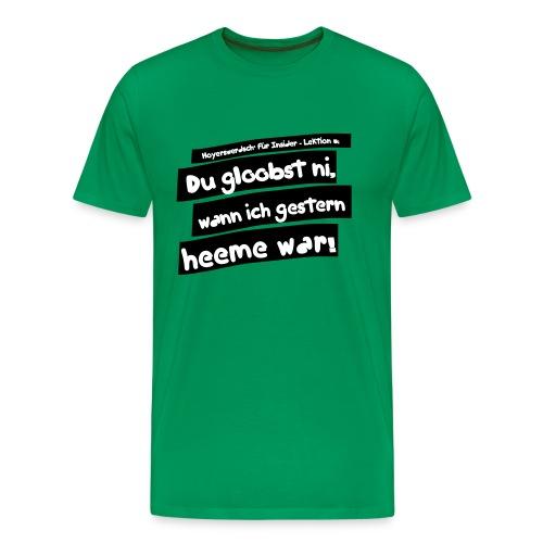 T-Shirt: Hoyerswerdsch' für Insider - verschiedene Farben/Motive - Männer Premium T-Shirt