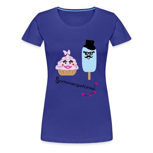 Sommergefühle - Frauen Premium T-Shirt