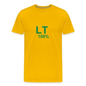 100% Lithuanian - Men's Premium T-Shirt