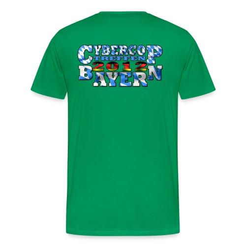 CC Treffen Herren grün - Männer Premium T-Shirt