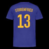 T-Shirts ~ Männer Premium T-Shirt ~ STØRENFRIED 13 (AWAY)