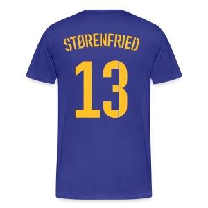 STØRENFRIED 13 (AWAY) - Männer Premium T-Shirt