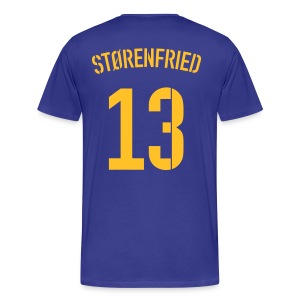 STØRENFRIED 13 (AWAY) - Männer Premium T-Shirt