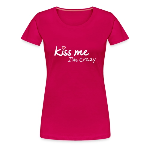 Koszulka damska Kiss - Koszulka damska Premium