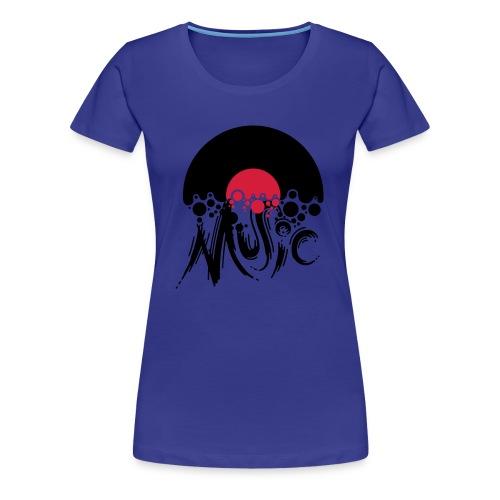 Damen T-Shirt Music - Frauen Premium T-Shirt