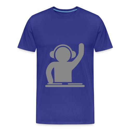 T-shirt med DJ logo fra Nelly-Hock. - Herre premium T-shirt