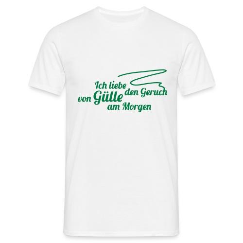 Gülle - Männer T-Shirt