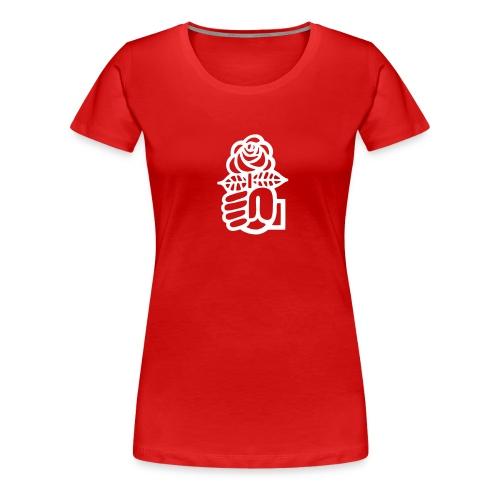 T-Shirt Juso Rose - Frauen Premium T-Shirt