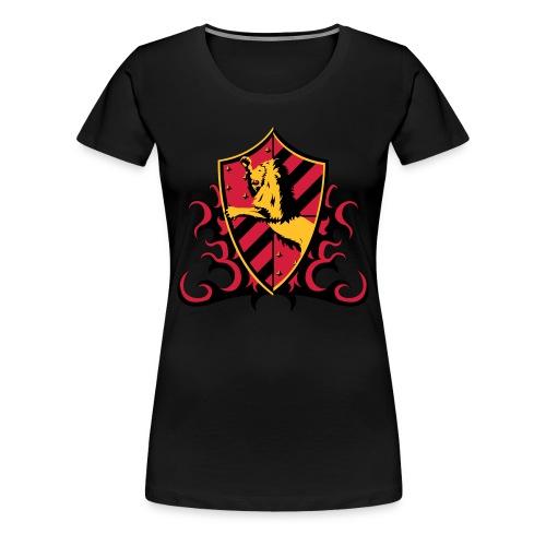 Gryffindor Lion Women - Women's Premium T-Shirt