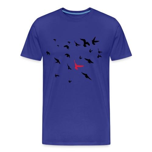 Flocking Birds - Men's Premium T-Shirt