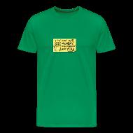 T-Shirts ~ Men's Premium T-Shirt ~ Peppy The Inspirational Cat