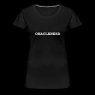 T-Shirts ~ Women's Premium T-Shirt ~ ORACLENERD Classic T