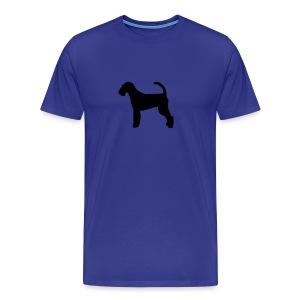Airedale Terrier Shirt - Männer Premium T-Shirt