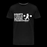 T-Shirts ~ Men's Premium T-Shirt ~ Sexual Tyrannosaurus