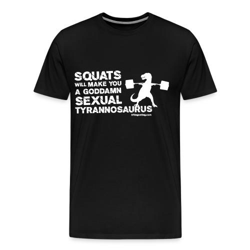 Sexual Tyrannosaurus - Men's Premium T-Shirt