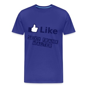 Like this Page ! - Männer Premium T-Shirt