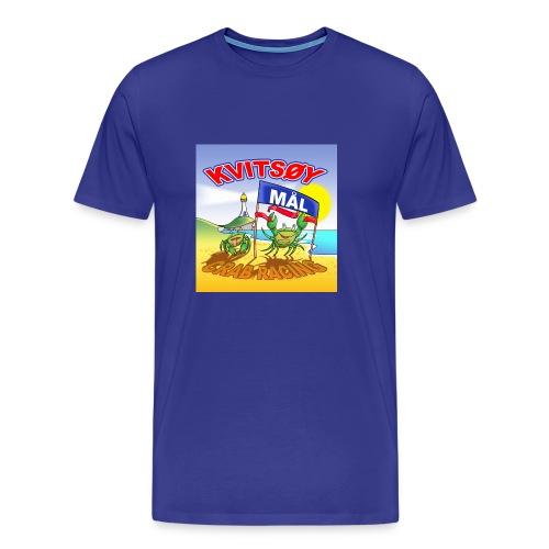 Kvitsøy Crab Racing herre - Premium T-skjorte for menn