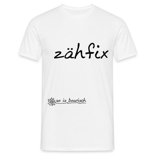 zäh fix - Männer Shirt - Männer T-Shirt