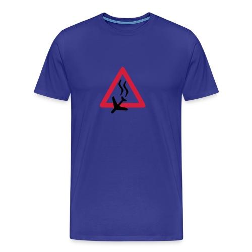 Absturz, Sky Blue Shirt - Männer Premium T-Shirt