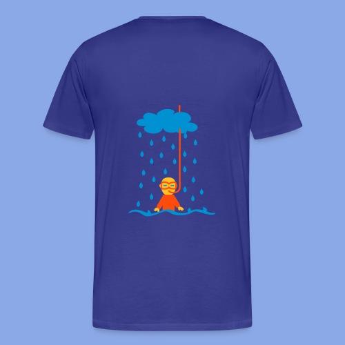 Regenwetter - Männer Premium T-Shirt
