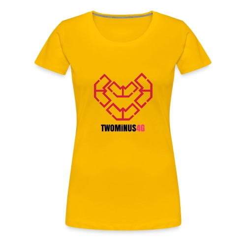 Heart - Frauen Premium T-Shirt
