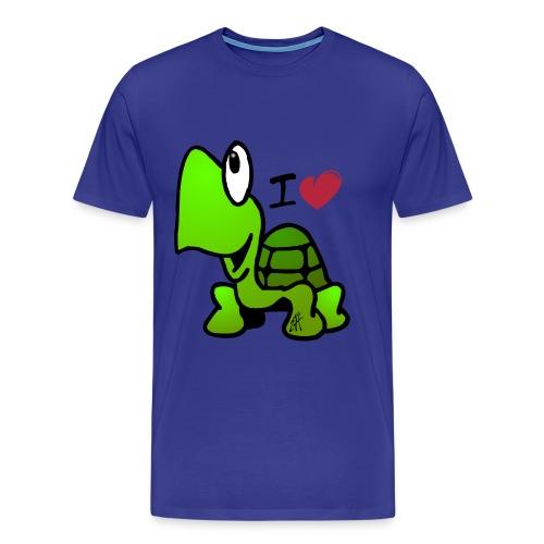 Turtle Love - Mannen Premium T-shirt