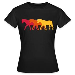Ponies - Frauen T-Shirt