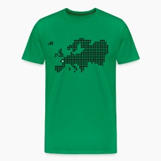 Moss green Tours Le Mans Angers T-Shirts